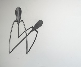 Juicy Salif, Light Study (Drafted with Graphite)