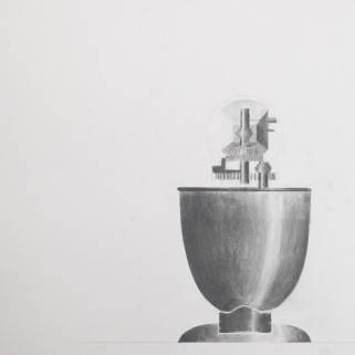KitchenAid Mixer, Light Study (Drafted plus Graphite)