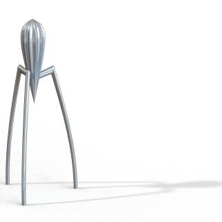 Render of Solidworks Model for Juicy Salif (Starck)